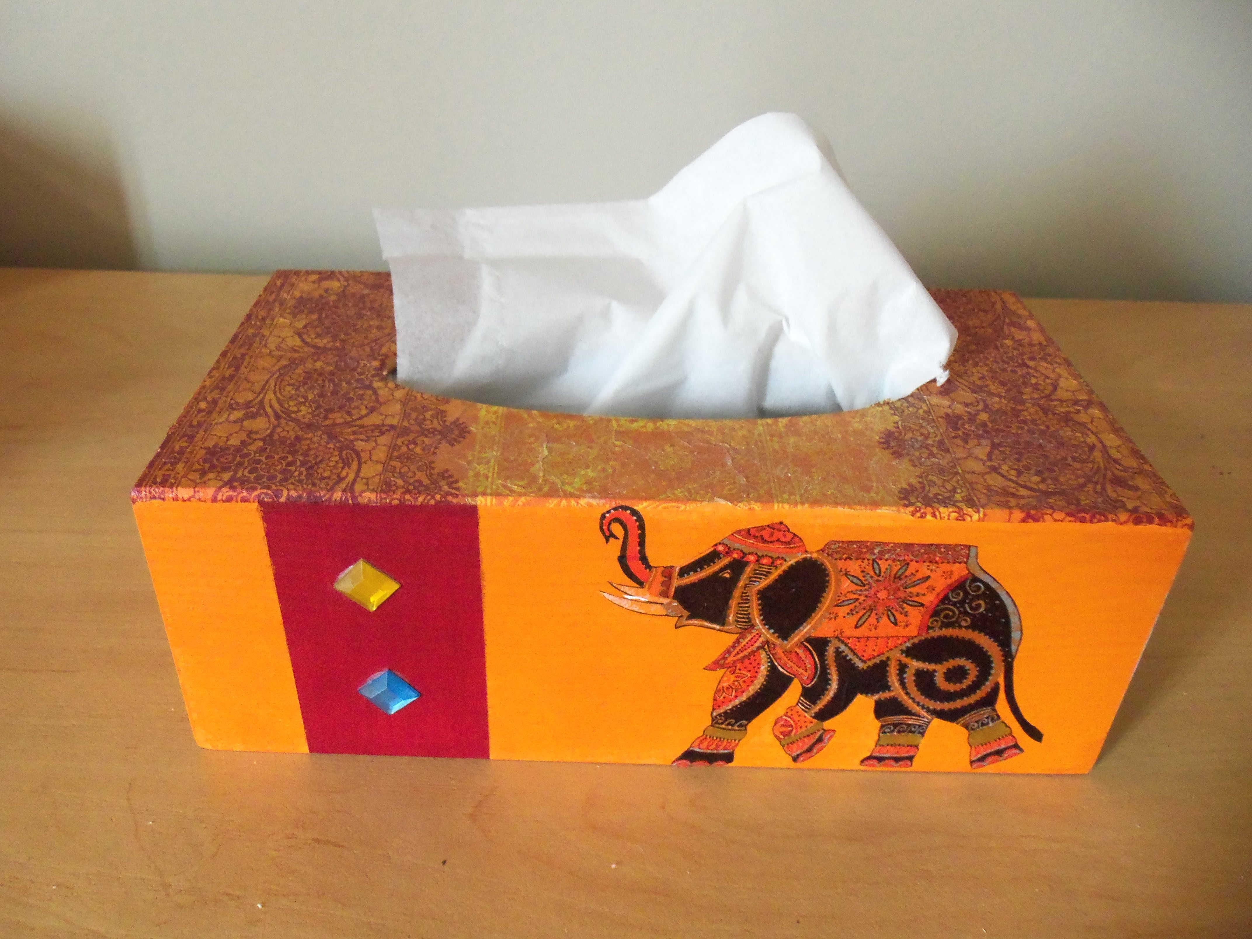 produit chaud beau lustre sélection spéciale de Les boites à mouchoirs et serviettage - Deco2sev