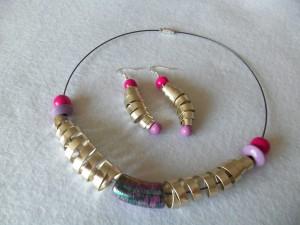 collier spirale fil d'aluminium_deco2sev
