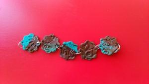 bracelet fimo marron turquoise_deco2sev