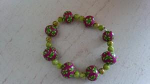 bracelet pâte fimo fleuri_deco2sev.canalblog.com