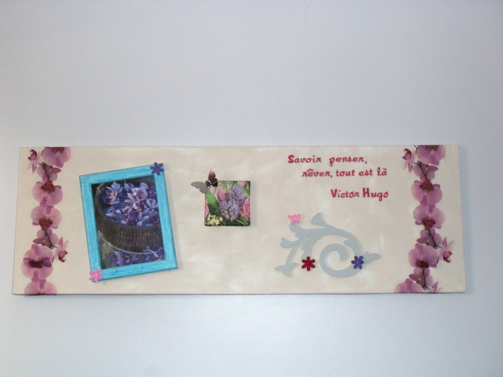 cadre fleurs citation V. Hugo-deco2sev