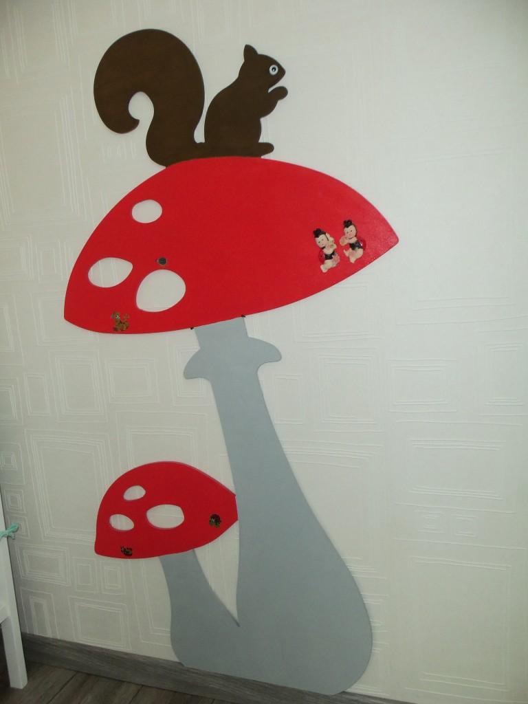 champignons et ecureuil-deco2sev