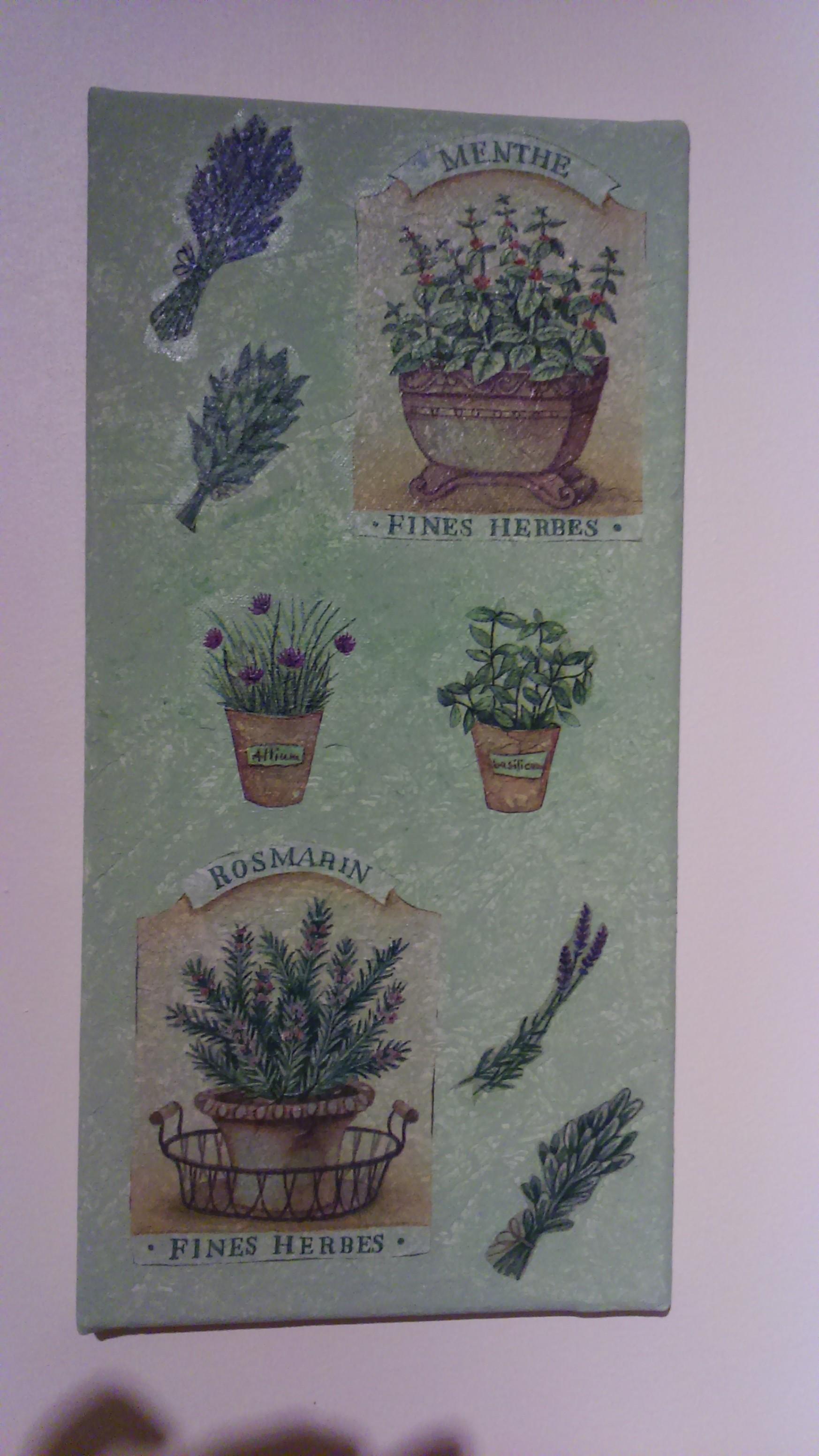 Tableaux pour cuisine deco2sev - Herbes aromatiques cuisine liste ...