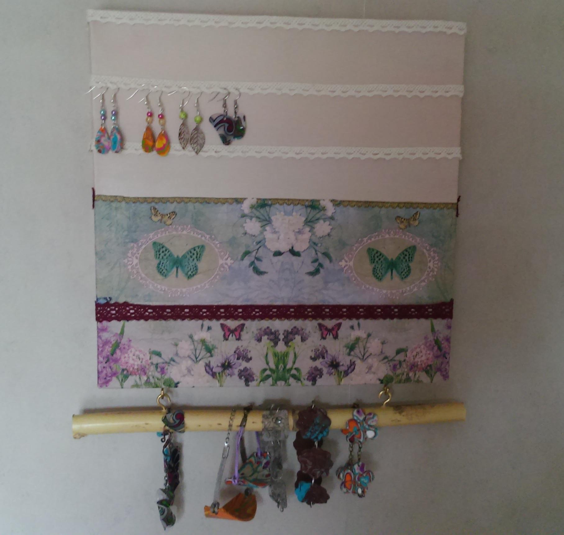 Porte Bijoux Et D Co Bouteille En Verre Vintage Deco2sev Fabrication D Un  Porte Bijoux