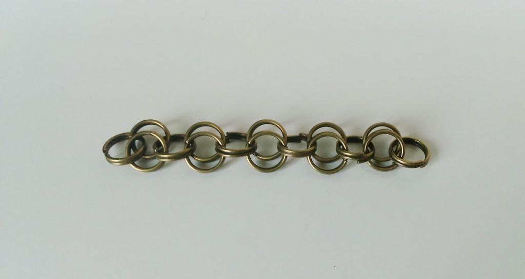assemblage anneaux doubles