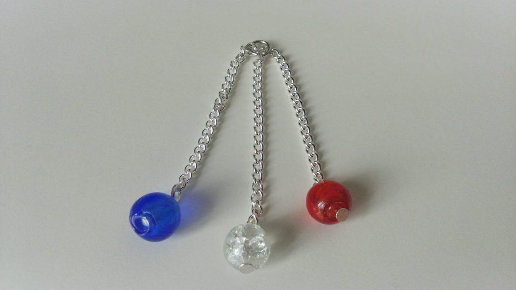 perles sur chaînes