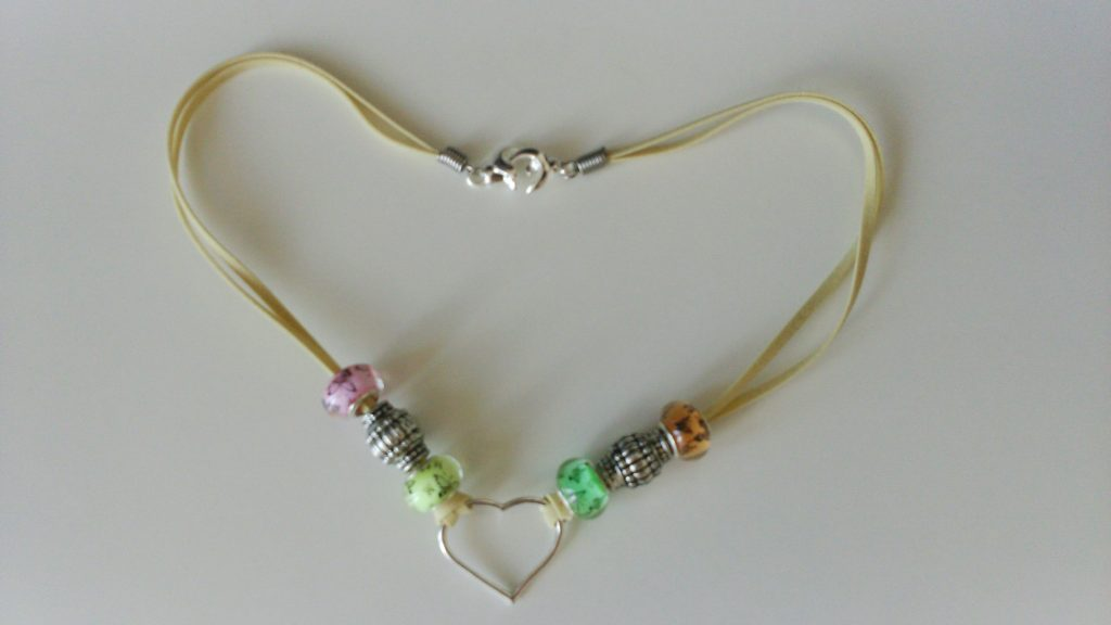 collier perles style pandora