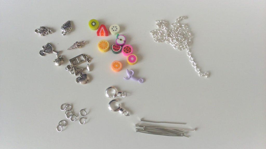 matériel bracelet